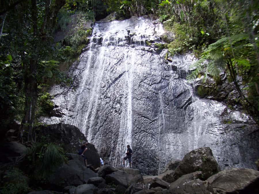 La Coco falls san jose Puerto rico