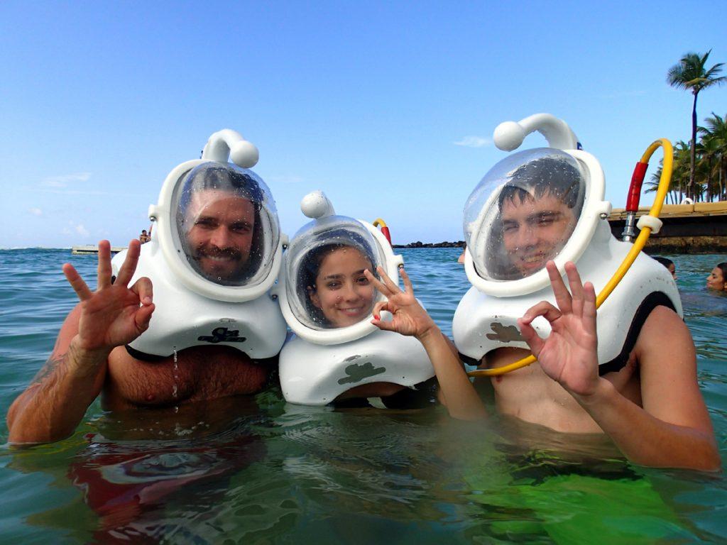 San Juan Helmet Diving