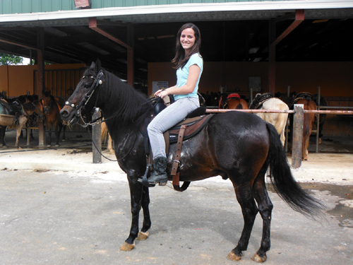 San juan horseback riding excursion