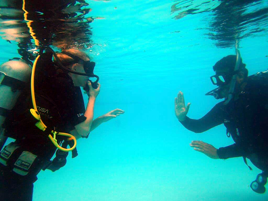 discover scuba san Juan excursion