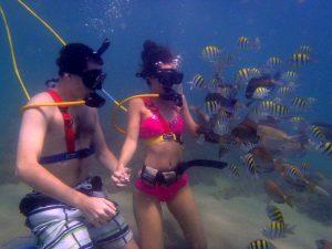 snuba diving san juan excursion